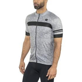 AGU Essential Melange Jersey korte mouwen Heren, dove grey